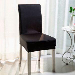Funda de silla para comedor Spandex un color